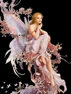 Happy Birthday Fairy, Fairy Drawings, Autumn Fairy, Fairy Pictures, Cool Birthday Cakes, Beautiful Fairies, Fairy Art, Flower Art, Fantasy Art