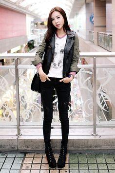 HARU style turn from fashion into  fashionista ♥www.itsmestyle.com♥ #Korean