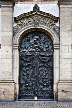 Door of Candelaria Church, Rio de Janeiro Jeffrey Anderson Grand Entrance, Entrance Doors, Doorway, Cool Doors, Unique Doors, Porches, Gates, Door Images, When One Door Closes