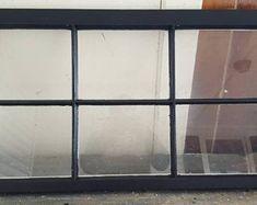 Greenhouse reclaimed salvaged window sashes 8 panes yard decor very cool Antique Windows, Antique Doors, Laundry Room Decals, Concrete Houses, Vintage Doors, Sash Windows, Home Design Plans, Minimalist Home, Door Knobs