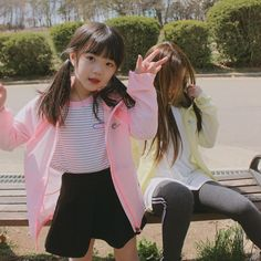 Cute Asian Babies, Asian Kids, Cute Babies, Korean Baby Girl, Korean Babies, Cute Girl Outfits, Kids Outfits, Cute Baby Girl Pictures, Pretty Little Girls