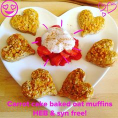 Hi all, as promised here's the recipe for these yummy muffins. I've got various porridge cake recipes on here, some with quark or yogurt, some with fruit etc…. Today I fancied this one inspired by a g