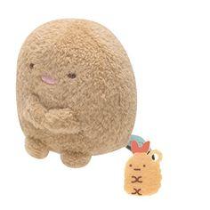 San-x Sumikko Gurashi Plush 2'' Tonkatu w/ Mini Fried Shr...  -  $7.99 + SH