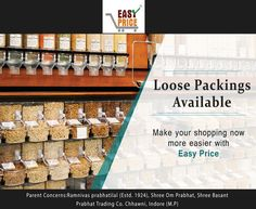 😊 Good Morning Friends 😊 Now loose packing is available At Easy Price Enjoy your grocery shopping, With More Benefits. Come to our shop www.easyprice.org 🌏