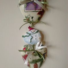 Fuoriporta Christmas door decoration