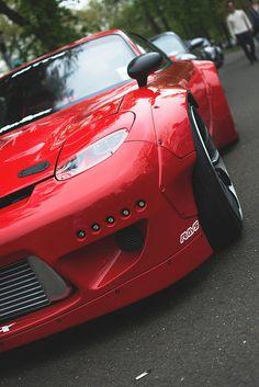 Automotive // Cars // Custom Mazda RX-7 // Rocketbunny