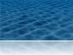 Water waves template with video for PowerPoint 2010