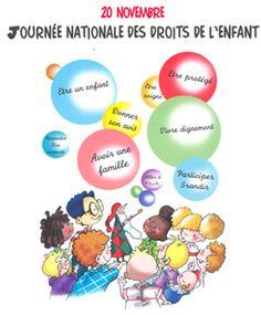 affiche journée des droits de l'enfant Cycle 3, Teaching, Album, Engagement, Good Citizen, Law, Childhood, Engagements, Education