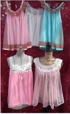 Vintage Fur, Mode Vintage, Marcel Rochas, Baby Dolls, Baby Doll Nighties, Nylons, Vintage Outfits, Vintage Fashion, Vintage Underwear