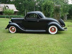 1935 Ford 3 Window Coupe. Don's first car was like this. Junior year in hi school.