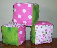 Homemade Mamas: Fabric Baby Blocks