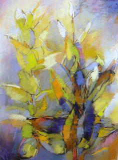 """Painting : """"Milkweed"""" (Original art by Debora Stewart)"""