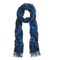 """J.Crew Collection Cashmere Plaid Scarf Aren't you glad you chose your cashmere plaid? Yep, that was an accessory rhyme. 100% Cashmere. 79""""L x 29 1/2""""W. In perfect condition. J. Crew Accessories Scarves & Wraps"""