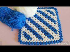 Crochet Crocodile Stitch, Knit Crochet, Crochet Hats, Erdem, Crochet Videos, Diy And Crafts, Crochet Necklace, Knitting, Women