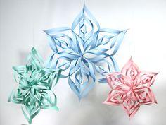 3d snowflake | Thefrugalcrafter's Weblog