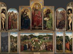 Jan van Eyck, The Ghent Altarpiece (2 of 2) | Van Eyck | Khan Academy