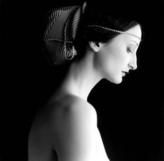 I love the idea of photographing portraits based on classic paintings...  Bernadette No 2 by Rodney Smith