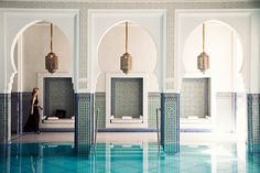 "Marrakech, Morocco -- With its centuries-old mosaic riads and bustling souks filled with colorful spices and leather goods, it's little wonder Marrakech is a favorite among bloggers and photographers alike. ""People always talk about the light in Paris, but I have to say the light in Marrakech has its own amazing quality,"" says Cassandra LaValle of Coco+Kelley.   The lacy Islamic archways and ornate palaces beg to be photographed, but LaValle says the key to taking the perfect travel snap is…"