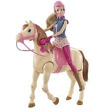 Poupée Barbie Hop à cheval