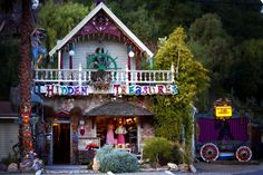 Colorful store featuring eclectic vintage items, including couture clothing, accessories & more 154 South Topanga Canyon Boulevard, Topanga, CA