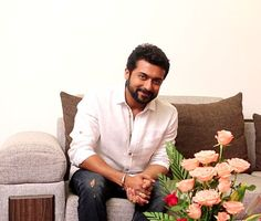 It's beautiful to see my kids' report cards - Suriya! Watch actor-producer Suriya open up about his latest production Surya Actor, Indian Star, Actor Photo, Cute Actors, Tamil Actress Photos, Tamil Movies, Indian Beauty, Celebrity Crush, Children