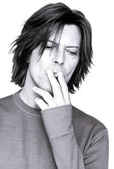 David Bowie - you can't tell me he's not a product. A delicious product.