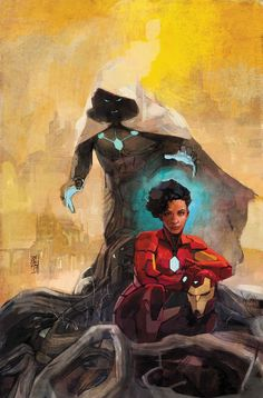 Infamous Iron Man #10 by Alex Maleev *