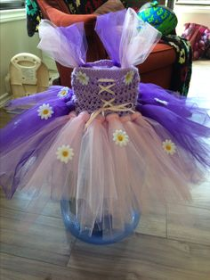 Tangled tutu dress