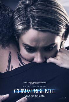 """Tris e Four abraçadinhos nos novos pôsteres de """"A Saga Divergente: Convergente"""""""