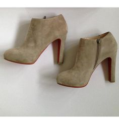 Tip: Christian Louboutin Heels (Taupe)