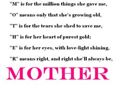 """Mothers enrich our lives with their presence. Mothers are an embodiment of love, care, sacrifice and service. They are selfless and dedicated. Mother's Day is a day to stop and think about this """"Woman"""" who has given birth to you and raised you"""