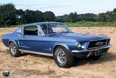 Photo of a 1967 Ford Mustang Fastback (Blue Fastback)