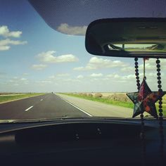 just me, some Led Zeppelin, & the open road - somewhere in CA #BitByBitWellness