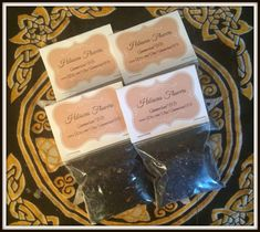 """Hibiscus Flower Magickal Herb ~ Divination Herb ~ Clairvoyance Herb ~ Incense ~ Spells ~ Wicca ~ Witch ~ Pagan ~ 3"""" x 3"""" Bag by SummerlandBB on Etsy"""