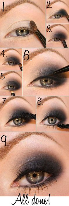 Evening makeup gives you more space to experiment with your look. You can use darker colors, false eyelashes and just more of everything. If you want a more nat