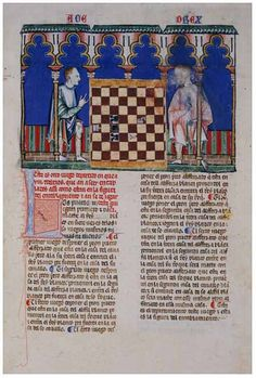 Alfonso X Book of Games. 101f