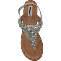 41c1f5943a3363 Not Rated Women s Jewels Sandal at Famous Footwear Jeweled Sandals