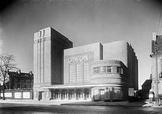 #Odeon Cinema, Blossom Street, York, North Yorkshire  -  this looks exactly like the old Odeon in Scarborough, in fact maybe it is in Scarborough?