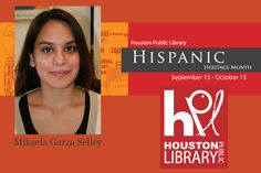 Meet the archivist preserving Houston's Hispanic history <-- Miakela Garza Selley will lead and direct HMRC's efforts in researching, acquiring, cataloging, digitizing, and preserving archival materials related to Hispanic cultures in Houston. What this means is that she is coordinating community outreach by serving as a community liaison, attending community meetings, and representing HPL at public events specifically related to Hispanic art, history, and culture. #hispanichou