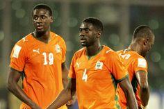 Yaya and Kolo Toure. Brothers on Ivory Coast and on Manchester City