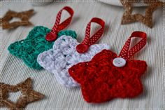 bandorka: Vánoční hvězda Crochet Snowflakes, Christmas Snowflakes, Christmas Ornaments, Diy And Crafts, Projects To Try, Crochet Patterns, Holiday Decor, Crochet Christmas, Advent