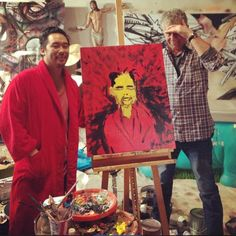 Art lesson #227 DO use #Yellow when painting orientals AZN's or the #Simpsons DONT use yellow when painting #JUNGLE #asians use brown #burntsienna #cadmiumyellow @anthonybourdain by davidchoe http://ift.tt/1LicD3M