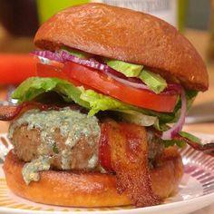 Cobb burger from Rachel Ray