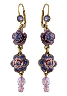 Violet Swarovski Jewelry