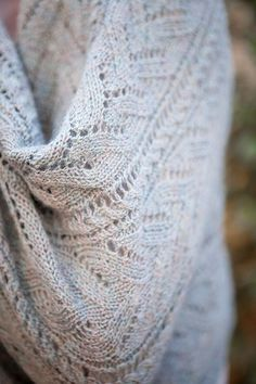Aurelia lace shawl pattern at www.knitpicks.com. Designed by Jenny Williams