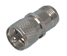 N Female Jack to PL-259 UHF Male Plug Adapter Ham Radio Ham Radio, Plugs, Female, Corks, Ear Plugs