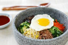 Making bibimbap at home is not that difficult. This bibimbap recipe is time-tested, easy to follow with step by step photos. It's been very popular.