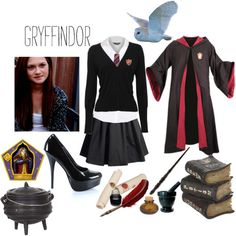 """Gryffindor uniform"" awesome for fancy dress theme :p"