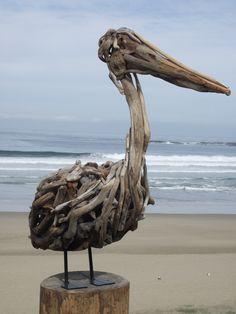 Standing Pelican- Bevan van Druten, South Africa