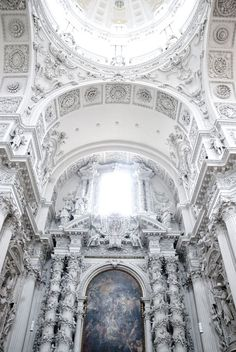 Theatine Church, Munich, Germany.